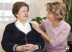 Family caregivers should seek support from other caregivers. You are not alone.